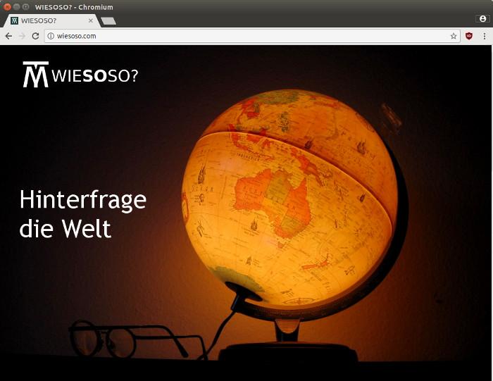Webdesign trend bombastischer minimalismus wiesoso for Trend minimalismus